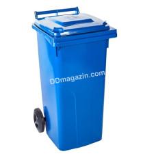 Бак мусорный для ТБО 120 л. (Синий)