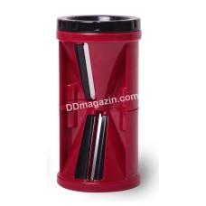 Шинковка Kamille спиральная пластиковая 7*7*13,5см KM-10087
