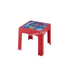 Стол детский ротанг Superman 43*43*42 см