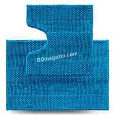 Набор ковров в ванную комнату Dariana Матрас 55*80 + 55*50 см (2шт.) (Голубой)