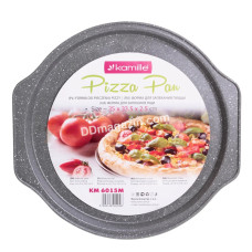 Форма для выпечки пиццы Kamille d-35 см*33,5 см, h-2,5 см KM-6015M