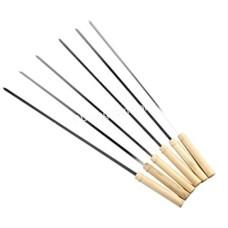 Шампур 2.0*10*600 мм с деревянной ручкой