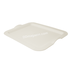 Поднос прямоугольный 46*36*4 см (белая роза) 167404