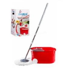 Комплект для мытья пола Zambak Plastik Mop (ведро + швабра)