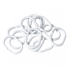Кольца для шторки, белые, 12 шт, Wela