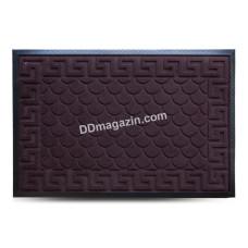Ковер резиновый Dariana MX 60*90 см с ворсовым покрытием (коричневый) 1000005208