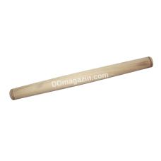 Скалка деревянная S&T 39*3,5 см (101-017)