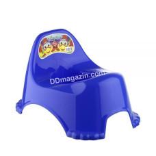 Горшок детский Elif Plastic (голубой)