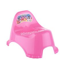 Горшок детский Elif Plastic (розовый)