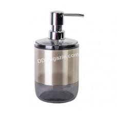 Дозатор для жидкого мыла Prima Nova, Lima XL, прозрачный черный