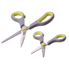 Набор ножниц Kamille, универсальные 2 пр. Из стали, пласт. ручки с антиковз. вставками KM-5180