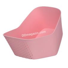 Миска с ситом Ardesto Fresh, розовый