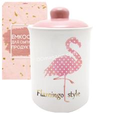 """Ёмкость для сыпучих продуктов S&T """"Фламинго"""" 700 мл (700-10-13)"""