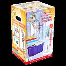 Комплект для мытья пола Akay plastik (ведро + швабра)