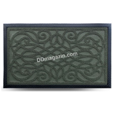 Ковер резиновый Dariana Grass 45*75 см с ворсовым покрытием (зеленый) 1000005231