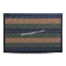 Ковер резиновый Dariana Grass 60*90 см. с ворсовым покрытием (комби красный) 1000005435