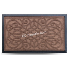 Ковер резиновый Dariana Grass 45*75 см с ворсовым покрытием (коричневый) 1000005228