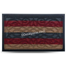 Ковер резиновый Dariana Grass 45*75 см с ворсовым покрытием (комби зеленый) 1000005227