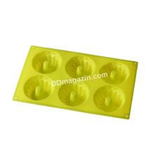 Форма силиконовая для выпечки маффинов Empire 6шт 29*17*4см EM-9827