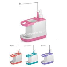 Дозатор для жидкого мыла с подставкой Flora