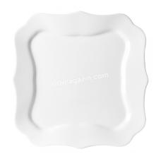 Тарелка Luminarc Authentic White десертная квадратная 20,5см*6шт 4701
