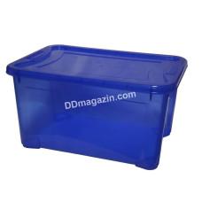 "Контейнер для хранения вещей ""Easy Box"" 14 л (38,0*26,5*29,0 см) (пр.синий)"