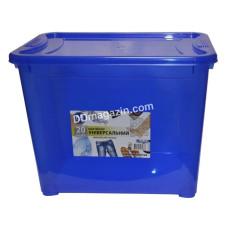 "Контейнер для хранения вещей ""Easy Box"" 20 л (38,0*26,5*29,5 см) (пр.синий)"
