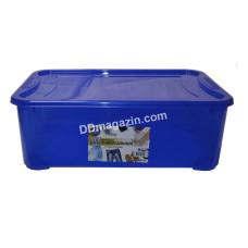 "Контейнер для хранения вещей ""Easy Box"" 31,5 л (55,5*39,0*19,2 см) (пр.синий)"