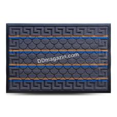 Ковер резиновый Dariana Multicolor 60*90 см с ворсовым покрытием (темно-серый) 1000006086