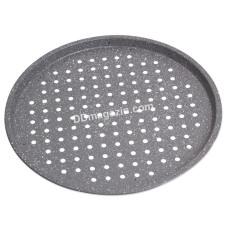 Форма для выпечки пиццы Kamille d-33см из углеродистой стали KM-6019M