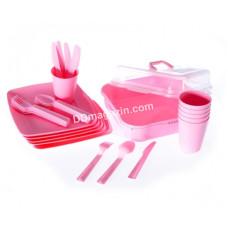 Набор посуды для пикника Tuffex на 6 персон
