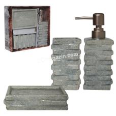 Набор аксессуаров для ванной комнаты Атлантида, 3 предмета (887-11-01)