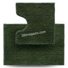 Набор ковров в ванную комнату Dariana Ананас 55*80 + 55*50 см (2шт.) (Зеленый) 1000006436