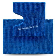 Набор ковров в ванную комнату Dariana Ананас 55*80 + 55*50 см (2шт.) (Синий) 1000006438