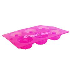 Форма силиконовая для выпечки кексов Zauberg 6 шт 28,5 * 17 * 3