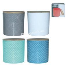 Ёмкость для сыпучих продуктов S&T 700 мл, керамика (2244-06)