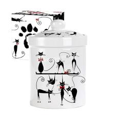 """Ёмкость для сыпучих продуктов S&T """"Черная кошка"""" 700 мл (6922-12)"""