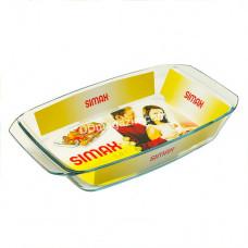 Форма стеклянная Simax Color прямоугольная 3,0 л 38,5*21,9*6,2 см